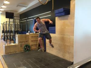 Parkour Jumping! - Photo Courtesy Matthew Obrigewitsch.